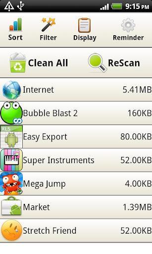 Cache Cleaner fácil - Imagem 1 do software