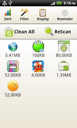 Cache Cleaner fácil - Imagem 2 do software