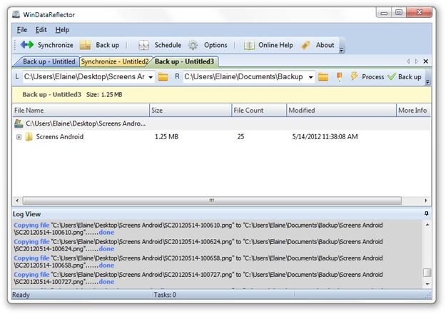 WinDataReflector - Imagem 1 do software