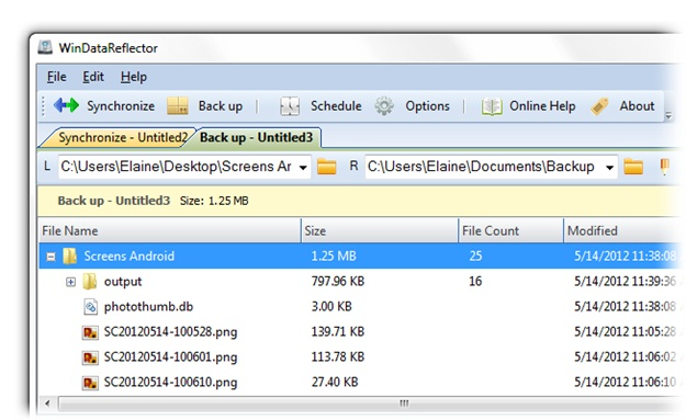 WinDataReflector - Imagem 2 do software