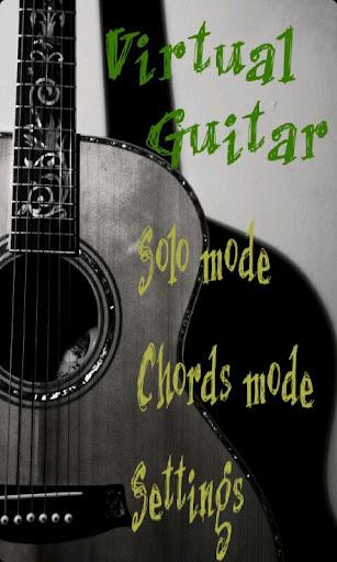 Virtual Guitar - Imagem 1 do software