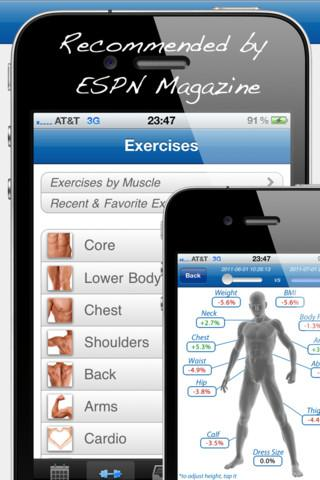 Fitness Buddy : 1700+ Exercise Workout Journal - Imagem 1 do software