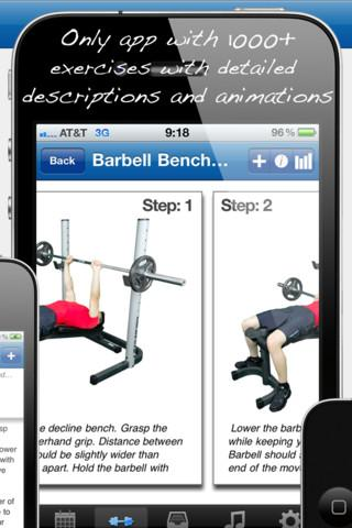Fitness Buddy : 1700+ Exercise Workout Journal - Imagem 2 do software