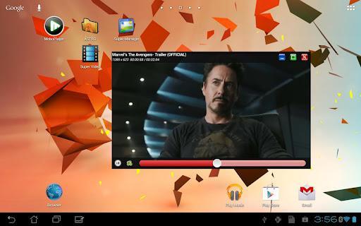 Super Video, Floating & Popup - Imagem 1 do software