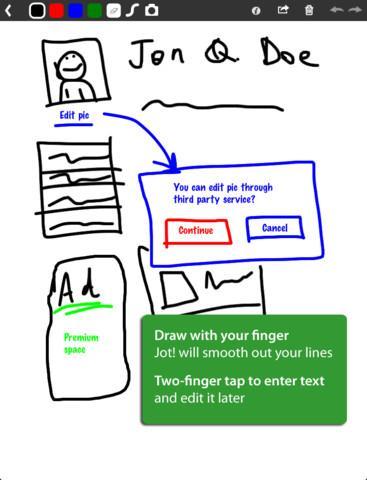 Jot! Whiteboard Free - Imagem 1 do software