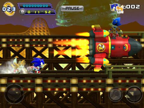 Sonic The Hedgehog 4 Episode II - Imagem 1 do software