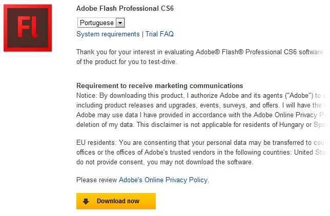 Adobe Flash Professional - Imagem 2 do software