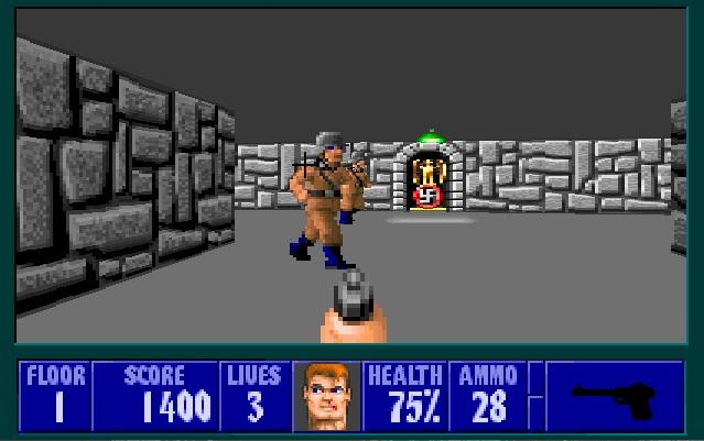 Wolfenstein 3D Online.