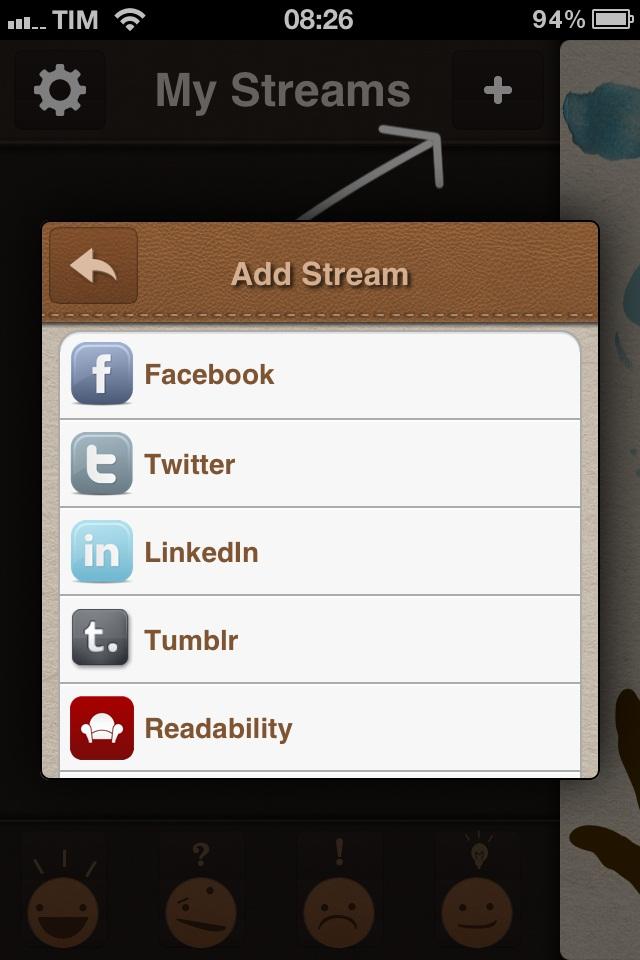 Área de inclusão de novas redes sociais