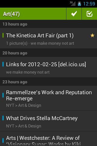 FeedMe (Google Reader / RSS) - Imagem 1 do software