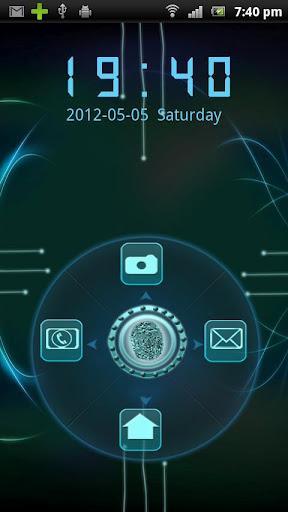 Rotating Finger Scanner Locker - Imagem 2 do software