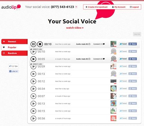 Entre na rede social que leva sua voz para o mundo