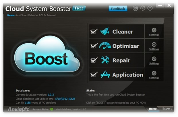 Cloud System Booster.