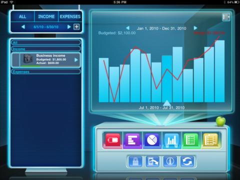 Budgets for iPad Free - Imagem 3 do software