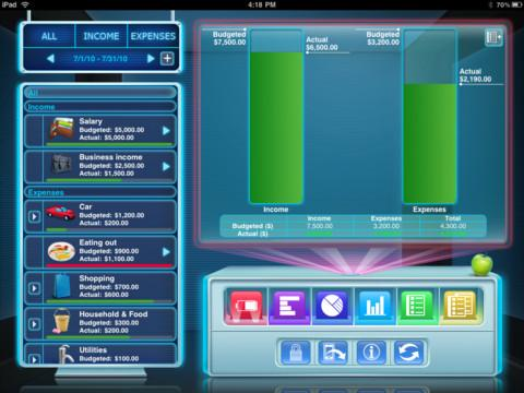 Budgets for iPad Free - Imagem 1 do software