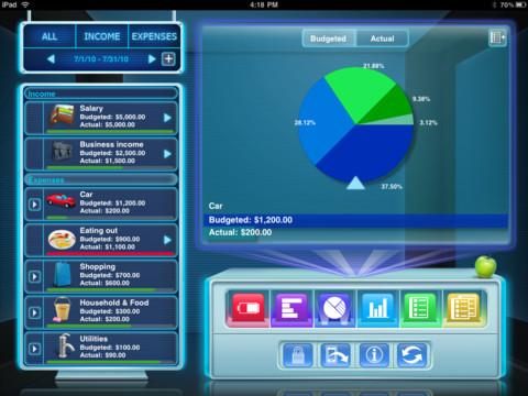 Budgets for iPad Free - Imagem 2 do software