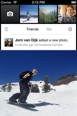 Facebook Camera - Imagem 1 do software
