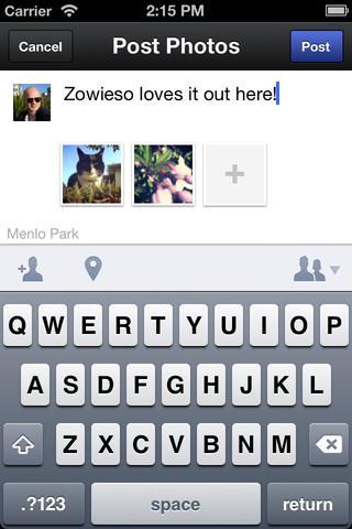 Facebook Camera - Imagem 3 do software