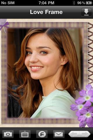Love Photo Frames - Imagem 2 do software