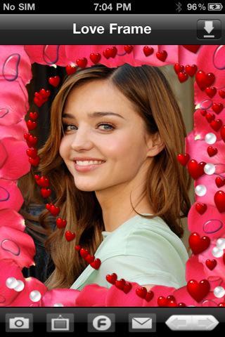 Love Photo Frames - Imagem 1 do software