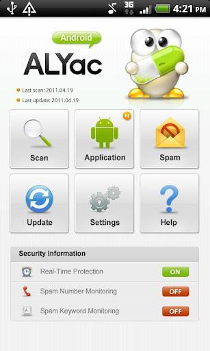 ALYac Android - Imagem 1 do software