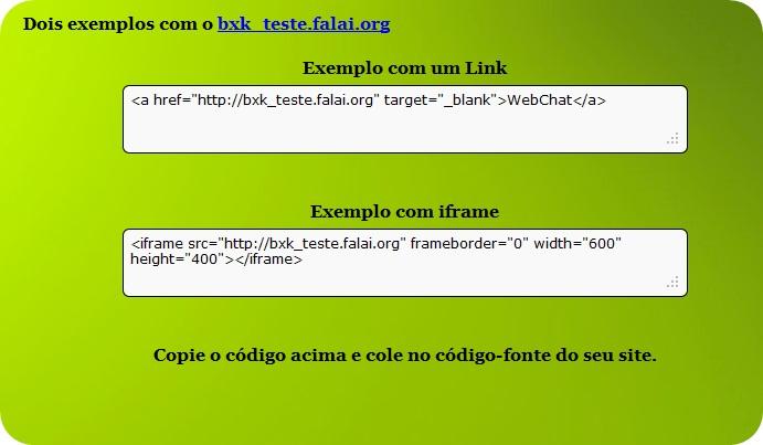 Falai - Imagem 2 do software