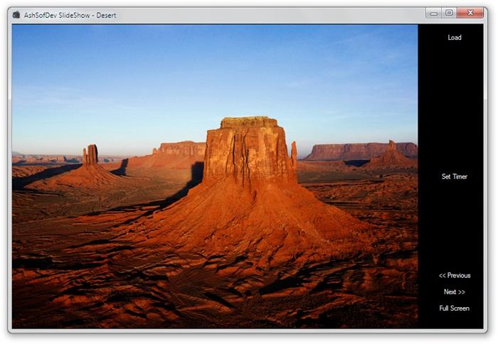 AshSofDev SlideShow - Imagem 1 do software