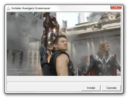 Os Vingadores Screensaver - Imagem 1 do software