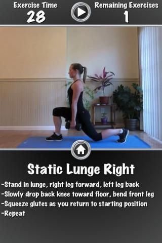 Daily Leg Workout FREE - Imagem 2 do software