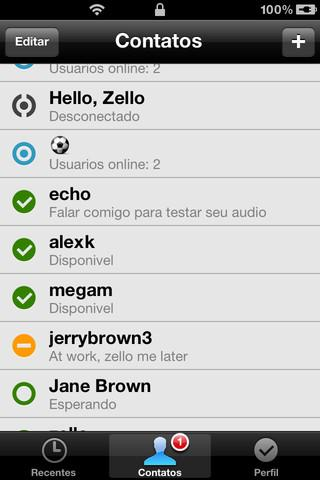 Zello Walkie Talkie - Imagem 2 do software