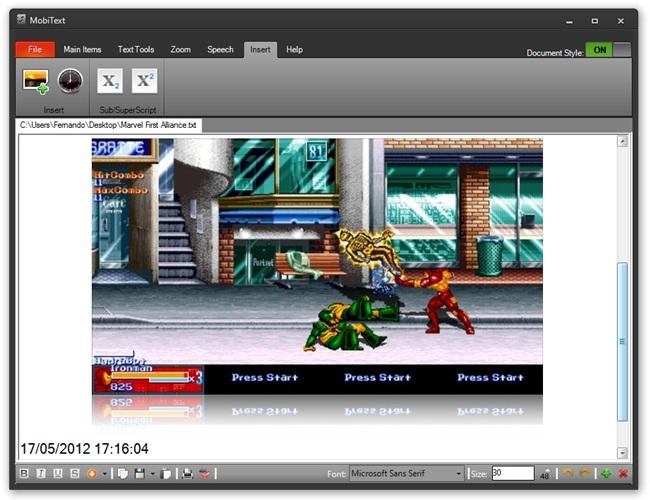 MobiText - Imagem 2 do software