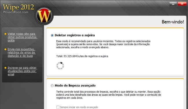 Wipe - Imagem 1 do software