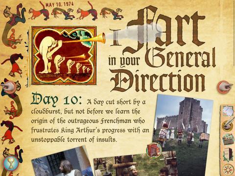 Monty Python: The Holy Book of Days - Imagem 1 do software