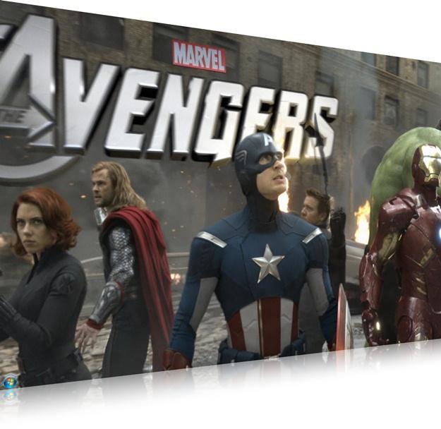 Os Vingadores Screensaver - Imagem 2 do software