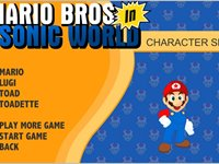 Imagem 2 do Mario Bros. in Sonic World