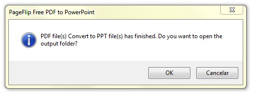 PageFlip Free PDF to PowerPoint Download