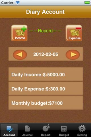 MoneyMgr - Imagem 1 do software