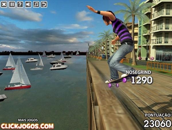 Stunt Skateboard 3D.
