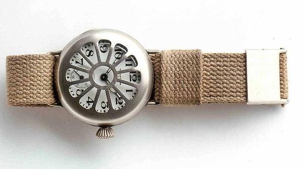 38ecb7d4521 Relógio de pulso usado por soldados durante a Primeira Guerra (Fonte da  imagem  Deutsches Uhrenmuseum Wikipedia)