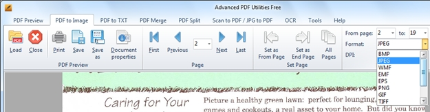 Advanced PDF Utilities Free.