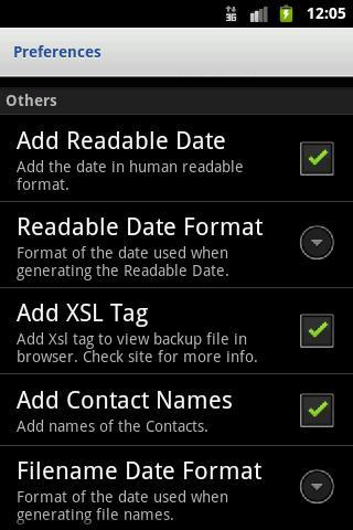 SMS Backup & Restore - Imagem 2 do software