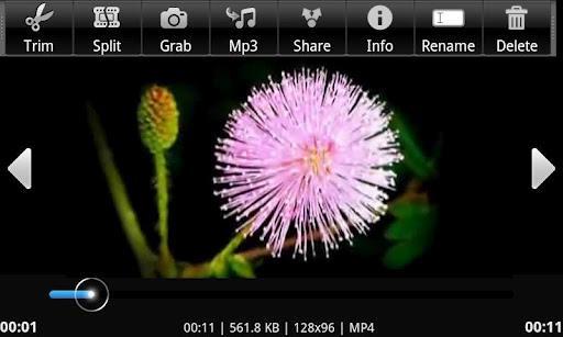 Trimmer Vídeo AndroVid - Imagem 1 do software