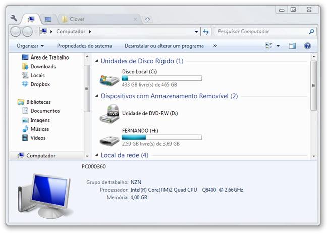 Clover - Imagem 3 do software
