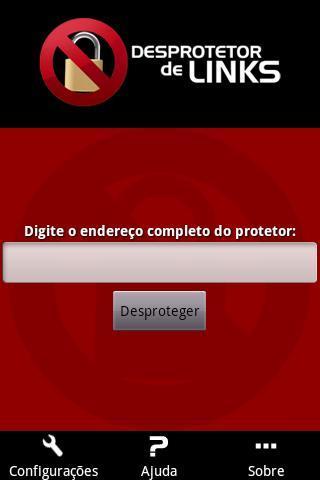 Desprotetor de Links - Imagem 1 do software