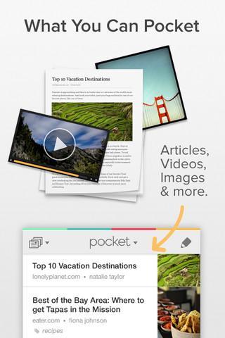 Pocket (Formerly Read It Later) - Imagem 1 do software