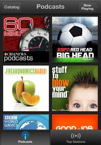 Podcasts - Imagem 1 do software