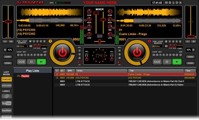 DJ ProDecks - Imagem 2 do software