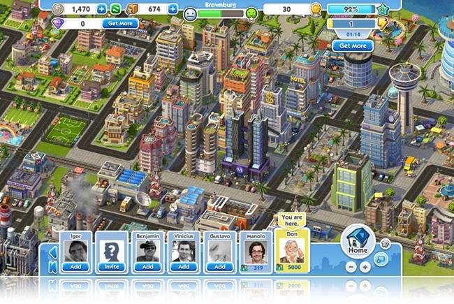 SimCity Social.
