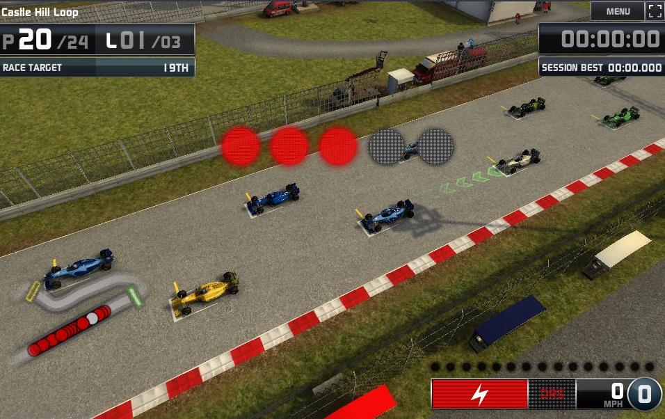 F1 Online Beta.