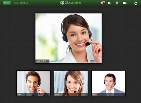 ClickMeeting Online Meetings - Imagem 1 do software